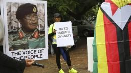 Regierungspartei berät über Mugabes Absetzung