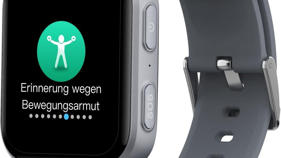 Wenn es an Bewegung mangelt, kann die Smartwatch darauf hinweisen.