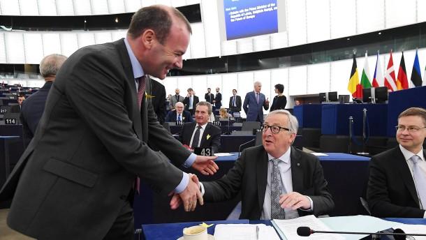 Umfragen zur Europawahl sehen weiter EVP mit Spitzenkandidat Weber vorne