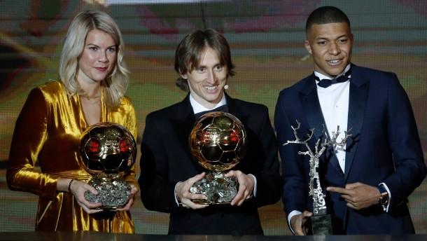 Luka Modric erhält Ballon d'Or