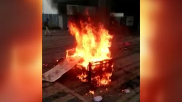 Protest in indischer iPhone-Fabrik