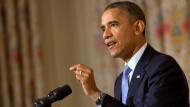 "Obama: ""Amerikaner haben die Nase voll"""