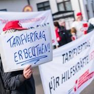 Als einziges Bundesland war bislang Hessen aus der Tarifgemeinschaft der Länder ausgetreten und verhandelt seitdem in Eigenregie – was Protest nicht ausschließt.