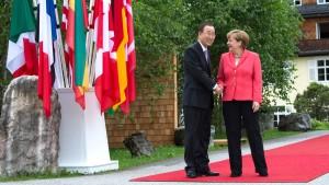NSA hörte Gespräch zwischen Merkel und Ban ab