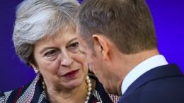 Brexit-Sondergipfel soll am 25. November stattfinden