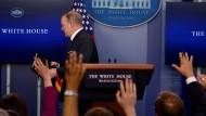 Trumps Pressesprecher Sean Spicer tritt zurück
