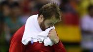 Nicht überzeugt: Andreas Wolff konnte gegen Frankreich nicht an seine Leistungen zuvor aknüpfen