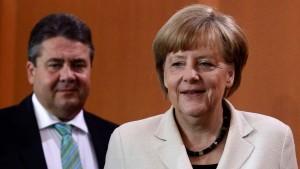 Merkel für Schulz als Parlamentspräsident