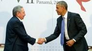 Obama und Castro wollen Kalten Krieg hinter sich lassen
