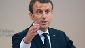 Frankreich will Hotspots für Flüchtlinge in Libyen