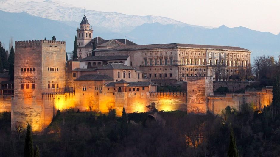 Die Alhambra im spanischen Granada