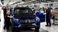 Daimler-Mitarbeiter in Bremen