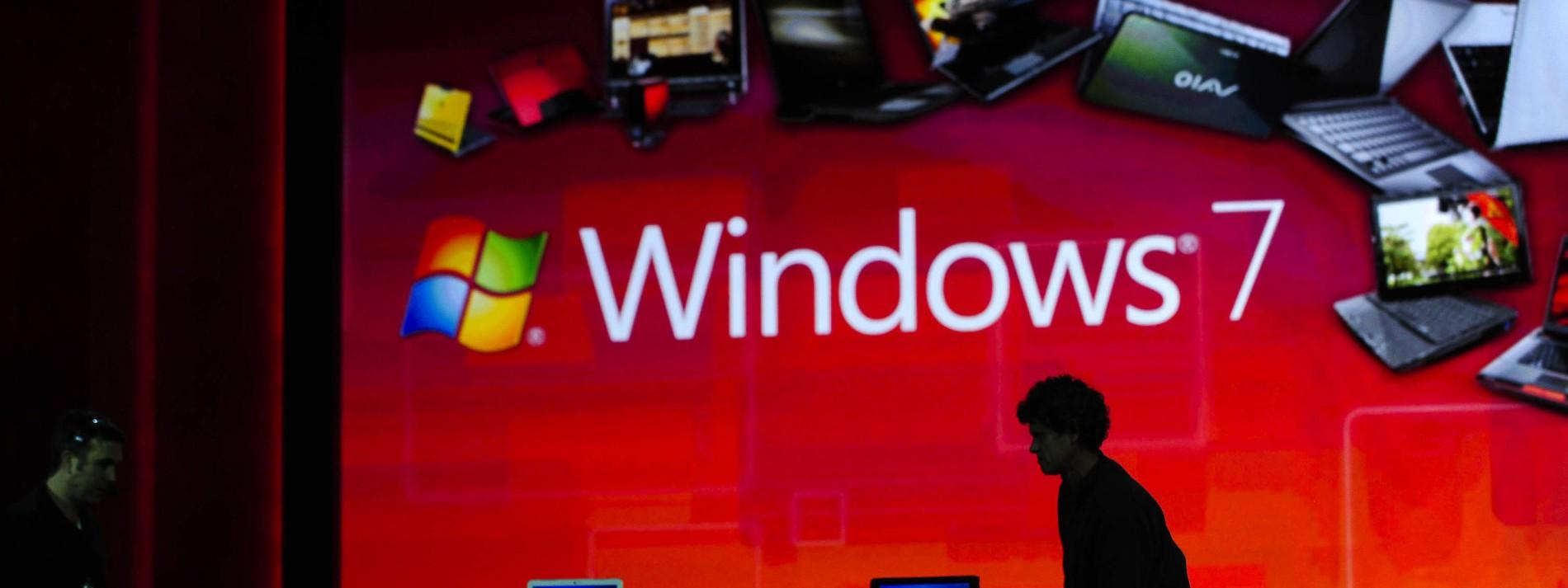 Millionen Computer laufen immer noch mit Windows 7