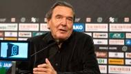 Altkanzler Schröder gibt Rat zu Trump