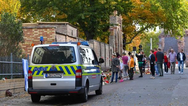 Lob und Tadel für Polizeieinsatz bei Halle-Anschlag