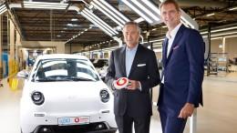 Der Elektro-Professor vernetzt seine Autos nun mit 5G