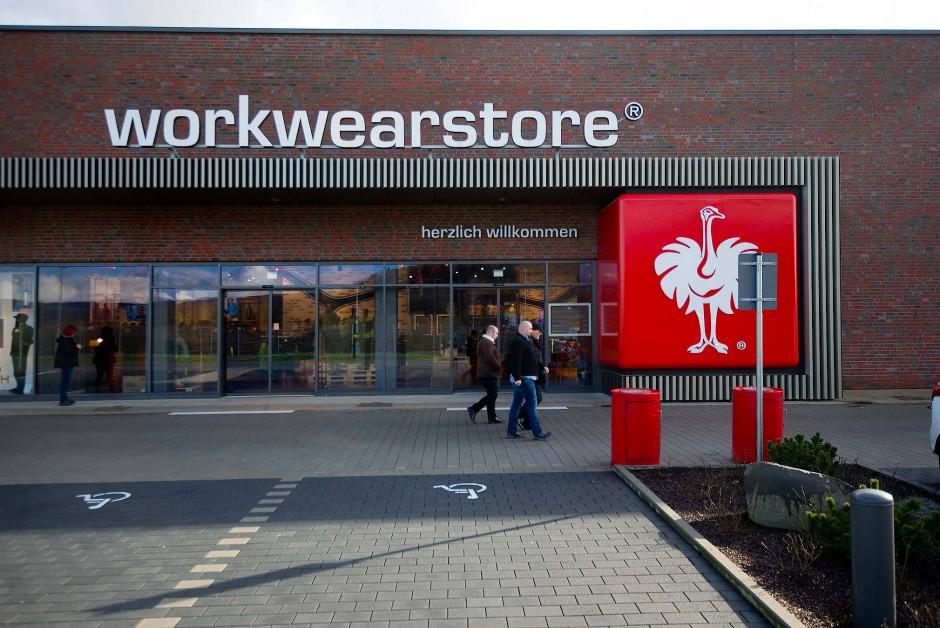 Vier baumarktgroße Ladengeschäfte hat das Unternehmens – hier am Stammsitz in Biebergemünd