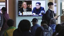 Trump bestätigt Gespräche mit Kim Jong-un