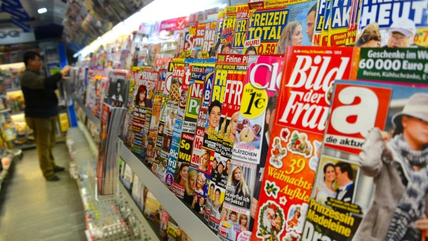Verleger probieren mehr Zeitschriften aus