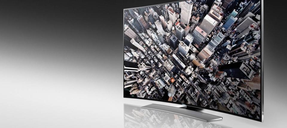 Gebogene Ultra Hd Fernseher Parabolisches Vergnugen Audio