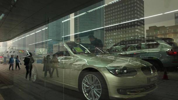 Chinesen kaufen weniger Luxusautos als erwartet
