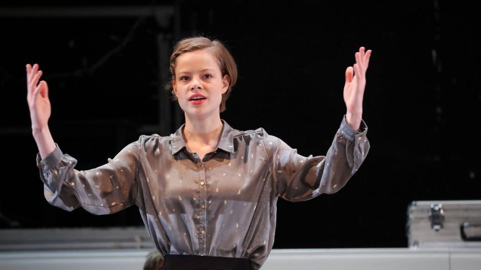 """Nichts wars: Emma Bading, nominiert für """"Beste Leistung einer Schauspielerin"""", stand nach der International-Emmy-Verleihung mit leeren Händen da."""