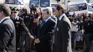 Barroso: Europa lässt Italien nicht allein