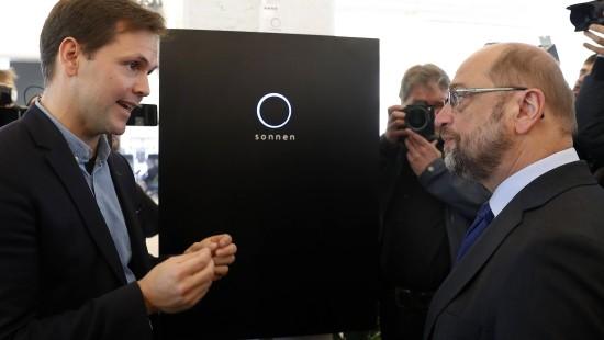 Martin Schulz besucht Start-Ups in Berlin