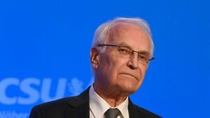Ex-Ministerpräsident Stoiber mit Corona infiziert