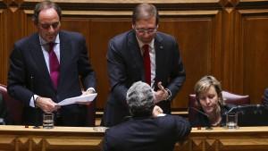 Portugiesische Regierung gestürzt
