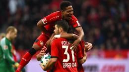 Leverkusen auch in Unterzahl mutig