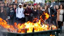 Gewalt und Festnahmen bei Schülerprotesten in Frankreich