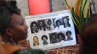 Stadt der Serienkiller: Die Fotos zeigen Opfer verschiedener Massenm�rder in Los Angeles.