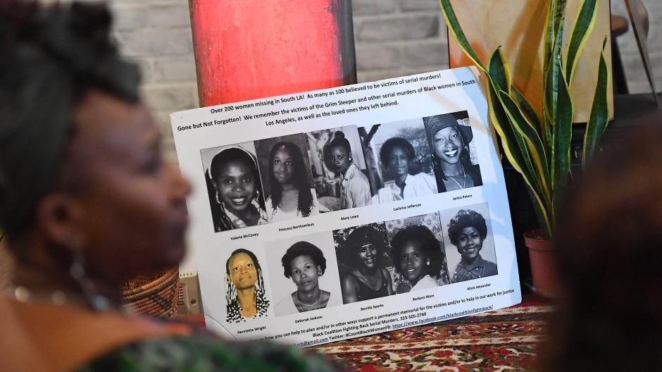 Stadt der Serienkiller: Die Fotos zeigen Opfer verschiedener Massenmörder in Los Angeles.