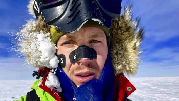 Alleine durch die Antarktis