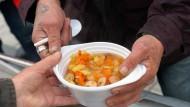 Fleisch in der Suppe ist nicht jedermanns Sache (Archivbild)
