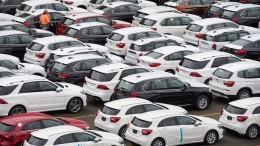 China-Export deutscher Autohersteller eingebrochen