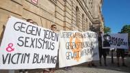 Protest gegen Sexismus und Gewalt in Bayreuth (Archivbild vom Juli 2019)