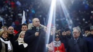 Der Beschützer von Russlands Ehre