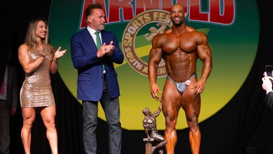 """Der """"Terminator"""" beim Bodybuilding-Festival"""