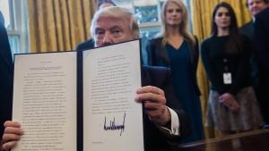 Der Dekret-Präsident