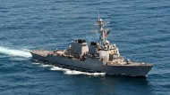"Das amerikanische Kriegsschiff ""USS John S. McCain"""