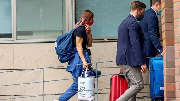 Timanowskaja will Asyl in Deutschland oder Österreich