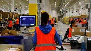 Roboter rücken bei Amazon vor