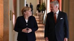 Merkel mit Großkreuz des Leopoldordens ausgezeichnet
