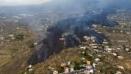 Vulkanausbruch auf La Palma: Wo Häuser standen, türmt sich die Lava auf