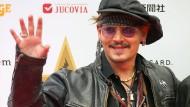 """Bye bye Hollywood? Nein, das Johnny Depp- Zitat  """"Ich bin müde vom Lebensstil in Los Angeles und den falschen Leuten"""" war frei erfunden."""