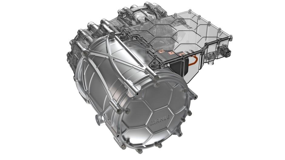 Kontaktlos: Der neue Elektromotor von Mahle glänzt mit einem hohen Wirkungsgrad