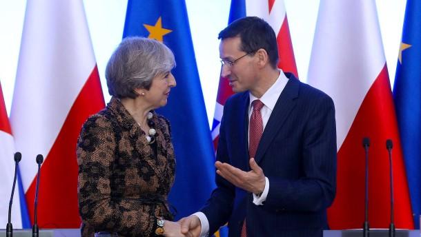 Polen und Großbritannien schließen Verteidigungspakt