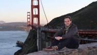 Kopilot Andreas Lubitz, hier während eines Aufenthalts in San Francisco. Die Aufnahme stammt aus dem sozialen Netzwerk Facebook.